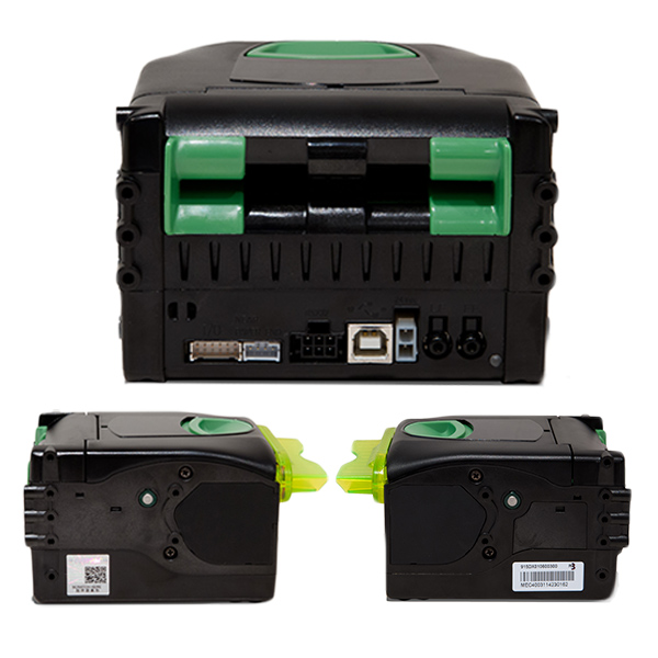 PRINTER VKP80III USB RS232 REAR CONNECTORS